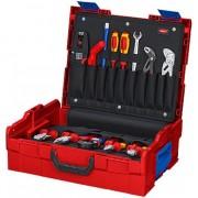 Куфар за съхранение и транспорт KNIPEX L-BOXX® Elektro 65-части, 00 21 19 LB E, KNIPEX