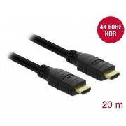 DeLock Active HDMI Cable 4K 60Hz 20 m 85286