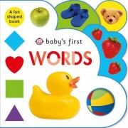 Baby's First Words: A Fun-Shaped Book, Hardcover