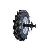 Set roti pneumatice cu axe 4.00-8 MTZ
