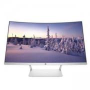 Монитор HP 27 Curved Display (1 x HDMI), Бял, Z4N74AA