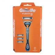 Gillette Fusion 5 1 ks sada holicí strojek s jednou hlavicí 1 ks + náhradní hlavice 3 ks pro muže