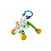Antepremergator interactiv Fisher Price - Zebra Play, centru de activitati pentru copii cu lumini si sunete