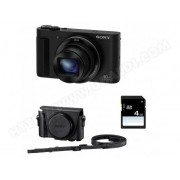 SONY Compact DSC-HX90 + ETUI + SD 4 Go