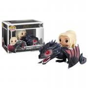 Pop! Vinyl Figura Pop! Vinyl Rides Daenerys y Drogon - Juego de Tronos
