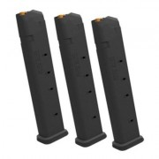 Magpul Pmag 27 Gl9 Magazine, For Glock, 9x19 - Pmag 27 Gl9 Magazine 3 Pack For Glock