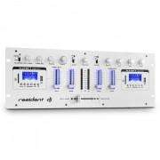 Resident DJ DJ DJ405USB-WH Table de mixage USB 4 voies 2x Bluetooth Enregistrement