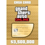 GRAND THEFT AUTO ONLINE: THE WHALE SHARK CASH CARD 3 500 000 - XBOX LIVE - MULTILANGUAGE - WORLDWIDE