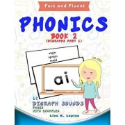 Phonics Flashcards (Digraph Sounds): 68 Flash Cards with Examples, Paperback/Lina K. Lapina
