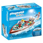 Playmobil Family Fun, Barca de viteza cu motor