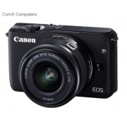 Canon EOS M10 Black 18 Megapixel Digital Camera with 15-45mm Lens
