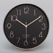 Home Office Room Modern Silent No Marcando 12 Pulgadas Redondo Reloj De Cuarzo De Pared Decorativos