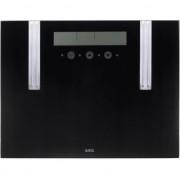 Cantar de persoane AEG PW 5571, cu analizatori, asisaj LCD, 150 kg, Negru