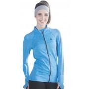 Jacheta dama sport fitness culoare albastra L (40)