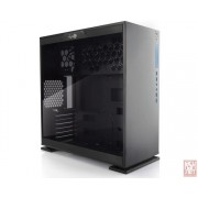 "IN-WIN 303, ATX Midi Tower, no PSU, 2x3.5"", 2x2.5"", Tempered Glass, black"