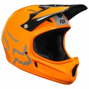 Fox Rampage Helmet Casco per bici (L, arancione/nero)