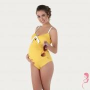 Petit Amour PositieBadpak / Zwangerschapsbadpak Antonie Yellow