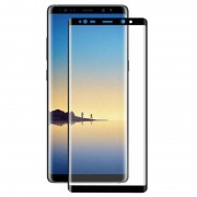 Samsung Galaxy Note 8 Hat Prince 3D Full Size Tempered Glass - Black