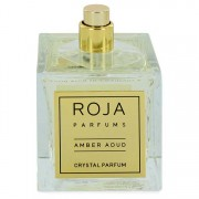 Roja Parfums Amber Aoud Crystal Extrait De Parfum Spray (Unisex Tester) 3.4 oz / 100.55 mL Men's Fragrances 546465