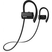 APIE Wireless Bluetooth V4.1 Headphones In-Ear Noise Cancelling Sports Headphone with microphone TPU Ear Hooks