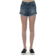Red Valentino Shorts in jeans Denim medio Cotone Donna