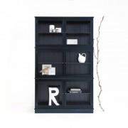 Oliver Furniture Svart Vitrinskåp 127 cm, Oliver Furniture