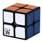 DaYan ZhanChi 2x2 50mm Black Speed cube 2x2x2 Puzzle
