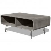 vidaXL Coffee Table 90x55.5x38.5 cm Wood Grey