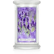 Kringle Candle French Lavender 2 Wick Large Jar 100 h