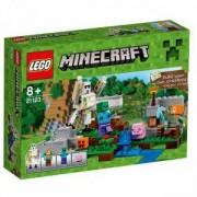 Конструктор ЛЕГО МАЙНКРАФТ-ЖЕЛЕЗНИЯТ ГОЛЕМ, LEGO Minecraft, 21123
