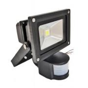 Proiector LED 10W cu Senzor Miscare Alb Rece 220V