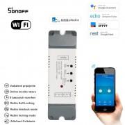 2 kanálový inteligentný WiFi switch 85V-250V AC