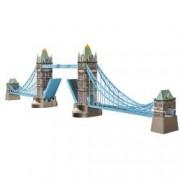 Puzzle 3D Tower Bridge 216 Piese.Fiecare piesa este individual realizata manual