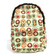 Городской рюкзак SkipShop Little совы в кружочках