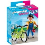 Jucarie Playmobil Special Plus Handyman With Bike