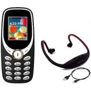 COMBO IKall K31 (Dual Sim 1.8 Inch Display 800 Mah Battery) +Neckband music player