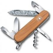 Victorinox Spartan,91MM,damast Blade,yew Handles. Swiss Army Knife