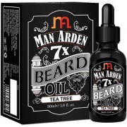 Man Arden 7X Beard Oil 30ml (Tea Tree) - 7 Premium Oils Blend For Beard Growth Nourishment