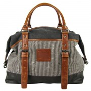 Licence 71195 Jumper II Canvas Overnight Bag Grey LBF10862-GY
