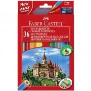 Creioane colorate eco 36 buc/set FABER-CASTELL, FC120136