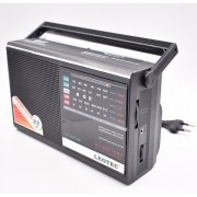Radio Leotec LT-317LW, cu 5 benzi radio, alimentare 220v si baterii