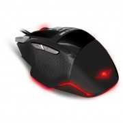 Spirit of Gamer Pro-M8 Light Edition USB Gaming egér - fekete