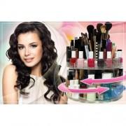Organizator rotativ pentru cosmetice