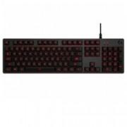 Клавиатура Logitech G413, механична, подсветка, гейминг, черна, USB