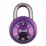 Kombinační visací zámek 1533EURD - Master Lock - fialový - 38mm