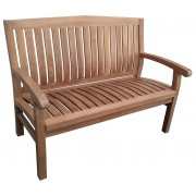 Kingston teak tuinbank 120 cm