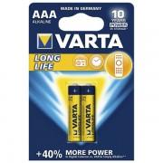 Baterija alkalna 1,5V AAA Longlife pk2 Varta LR03 000035263