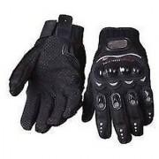 Pro biker Gloves - Bike Motorcycle / Cycle Riding Gloves Biker Gloves XL Size