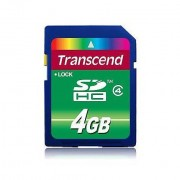 Transcend Memory Card 4gb Sdhc Class 4