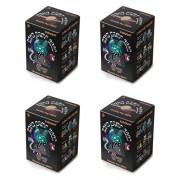 Set of 4: Band Camp Labbit Blind Box Vinyl Mini Figure Series by Kidrobot